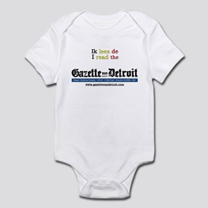 I read the Gazette Infant Bodysuit