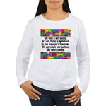 He Has Asperger's Women's Long Sleeve T-Shirt