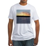 Winter Sunrise 0163 Fitted T-Shirt