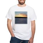 Winter Sunrise 0163 White T-Shirt