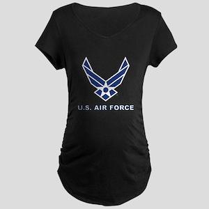 U.S. Air Force Maternity Dark T-Shirt