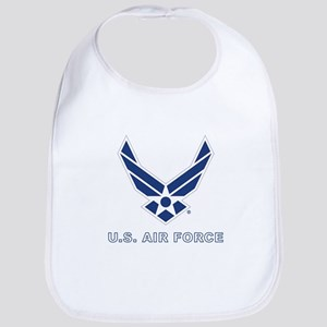 U.S. Air Force Cotton Baby Bib