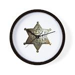 Deputy Game Warden Wall Clock