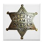 Deputy Game Warden Tile Coaster