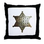 Deputy Game Warden Throw Pillow