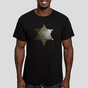 Deputy Game Warden Men's Fitted T-Shirt (dark)