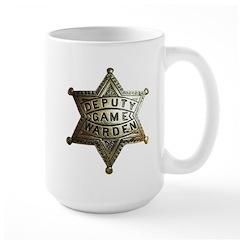 Deputy Game Warden Large Mug