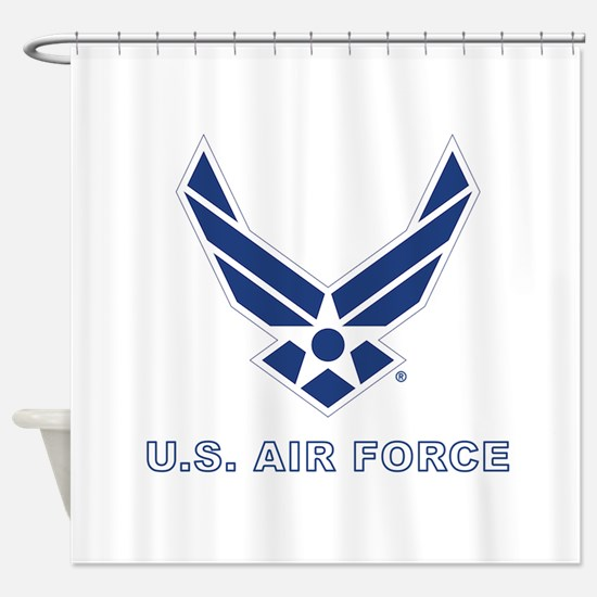 U.S. Air Force Shower Curtain