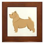 Norwich Terrier Framed Tile