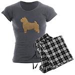 Norwich Terrier Women's Charcoal Pajamas