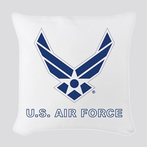 U.S. Air Force Woven Throw Pillow