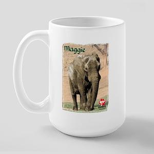 Color Photo Maggie Large Mug