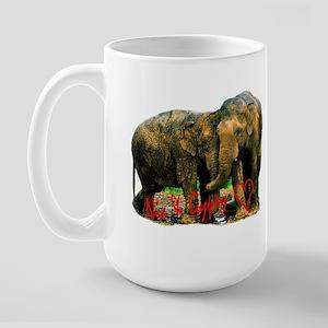 Nicholas & Gypsy Large Mug
