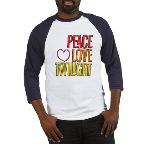 Peace Love Twilight Baseball Jersey