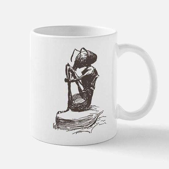 Contemplating Ant Mug