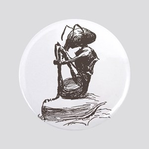"Contemplating Ant 3.5"" Button"