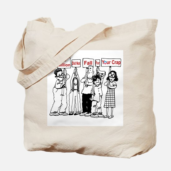 Cute Anti liberal Tote Bag