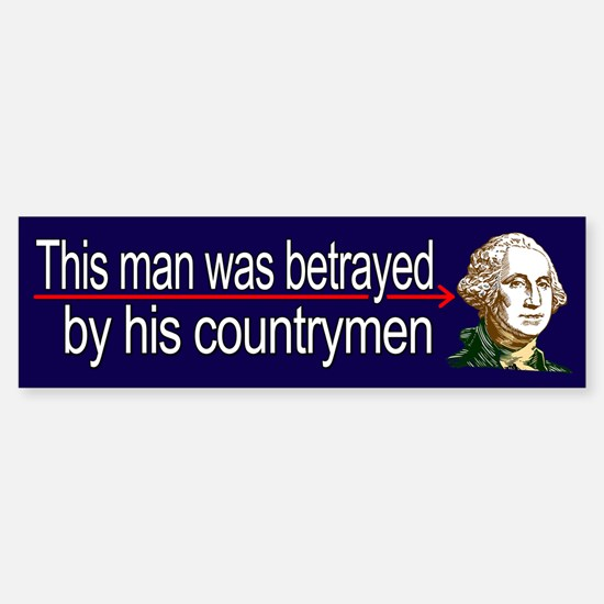 Washinton Betrayed by his countrymen
