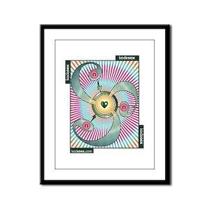 FISTING -- GIVE & GET Framed Panel Print