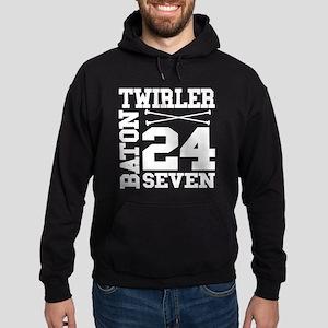 Baton Twirler 24/7 Hoodie (dark)
