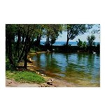 One Summer On Lake Postcards (package Of 8)