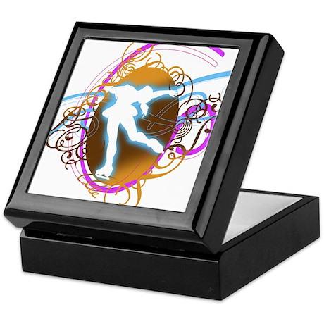 Electric Skater Keepsake Box