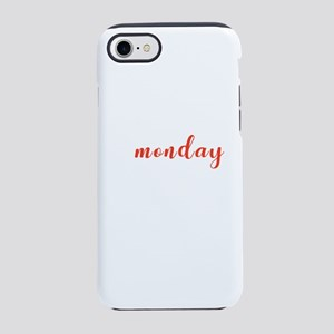Funny School Statement Typog iPhone 8/7 Tough Case