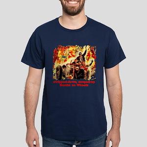 Stripped Hot Rods Dark T-Shirt
