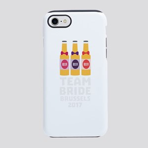 Team Bride Brussels 2017 Cfo9l iPhone 7 Tough Case