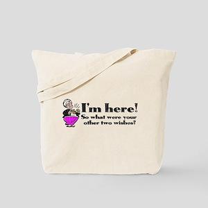 Three Wishes Tote Bag
