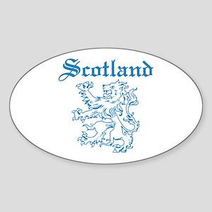 Scotland Oval Sticker