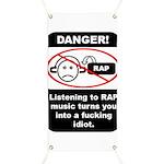 Danger - Rap music Banner