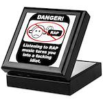 Danger - Rap music Keepsake Box