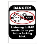Danger - Rap music Large Poster