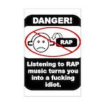 Danger - Rap music Mini Poster Print