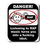Danger - Rap music Mousepad