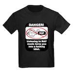 Danger - Rap music Kids Dark T-Shirt