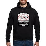 Danger - Rap music Hoodie (dark)