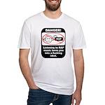 Danger - Rap music Fitted T-Shirt