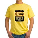 Danger - Rap music Yellow T-Shirt