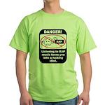 Danger - Rap music Green T-Shirt