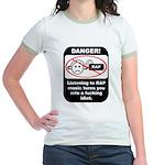 Danger - Rap music Jr. Ringer T-Shirt