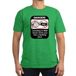 Danger - Rap music Men's Fitted T-Shirt (dark)