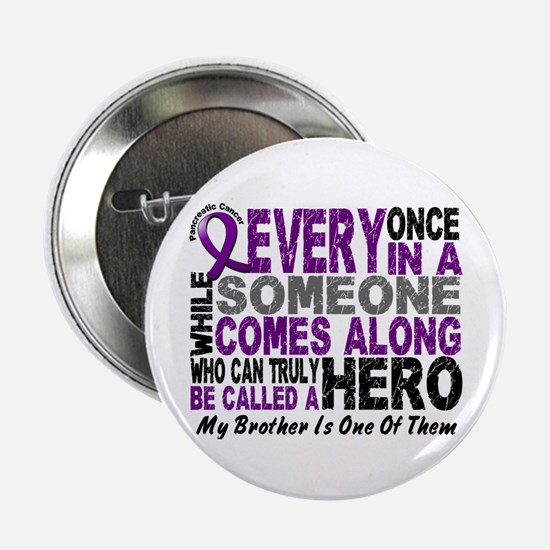 """HERO Comes Along 1 Brother PC 2.25"""" Button"""