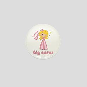 big sister t-shirts princesses Mini Button