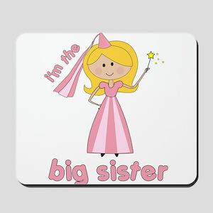 big sister t-shirts princesses Mousepad