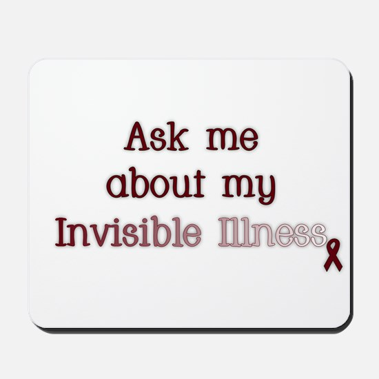 Invisible Illness - APS Mousepad