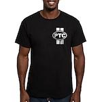 PT Cruiser Men's Fitted T-Shirt (dark)