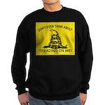 Gadsden Flag updated Sweatshirt (dark)