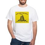 Gadsden Flag updated White T-Shirt